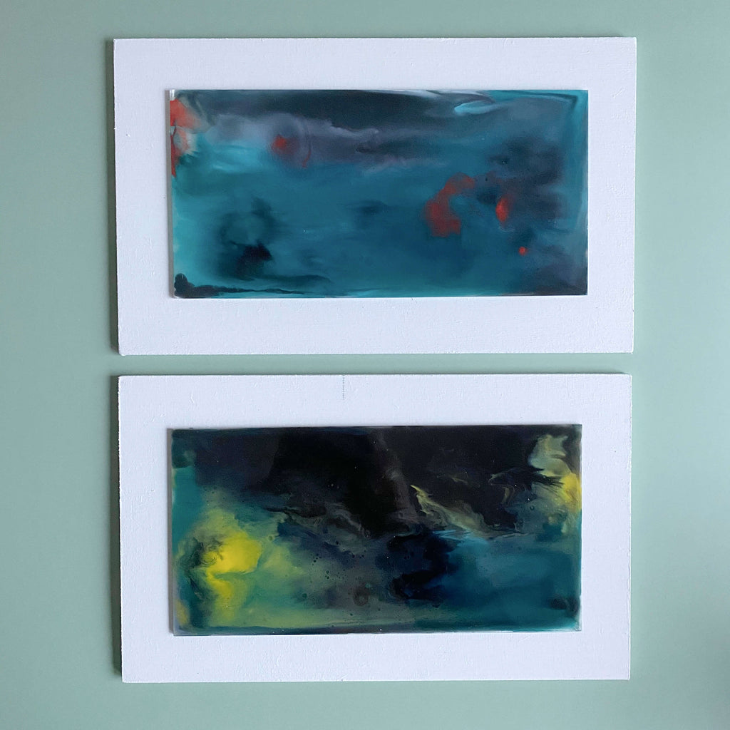 Stormy Skies Glass Wall Art
