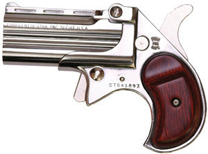 COBRA ENTERPRISES DERRINGER .38 CHROME ROSEW