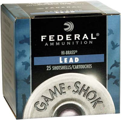 FEDERAL 16G 2.75 3-1/4 1-1/8 #4 HB