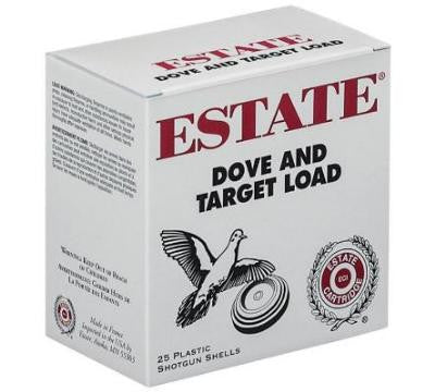 ESTATE CARTIDGE 12G 2.75 3 1-1/8 #7.5