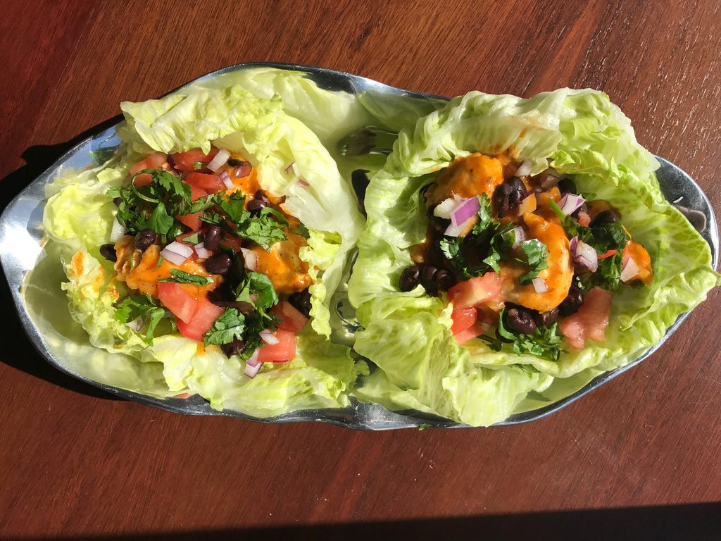 Lettuce Wrap Chicken Tacos