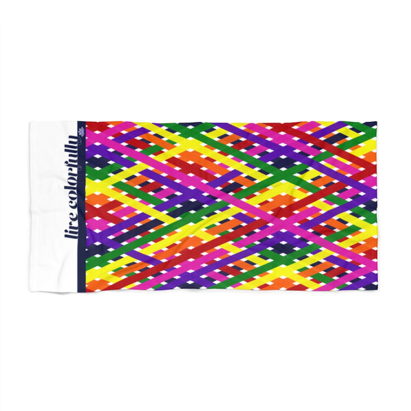 live colorfully 2020 beach towel