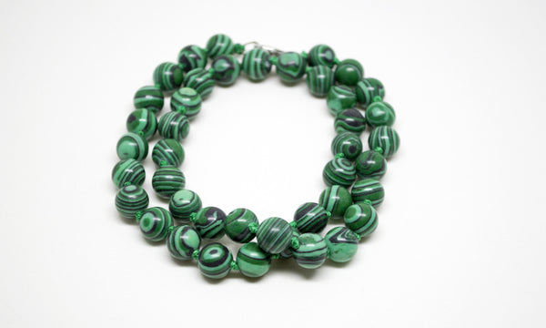 Malachite Necklace - 12mm