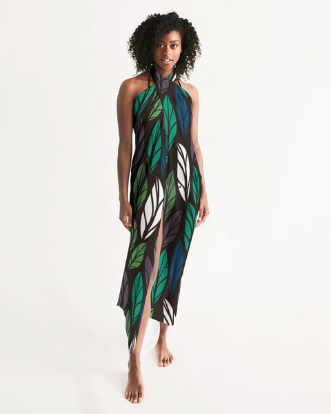 Dark Tropics Swim Cover Up