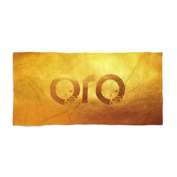 "oro ""gold"" Beach Towel"