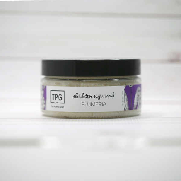 Deeply Hydrate Skin With Our Mild, Spa-Quality Shea Butter Sugar Scrub