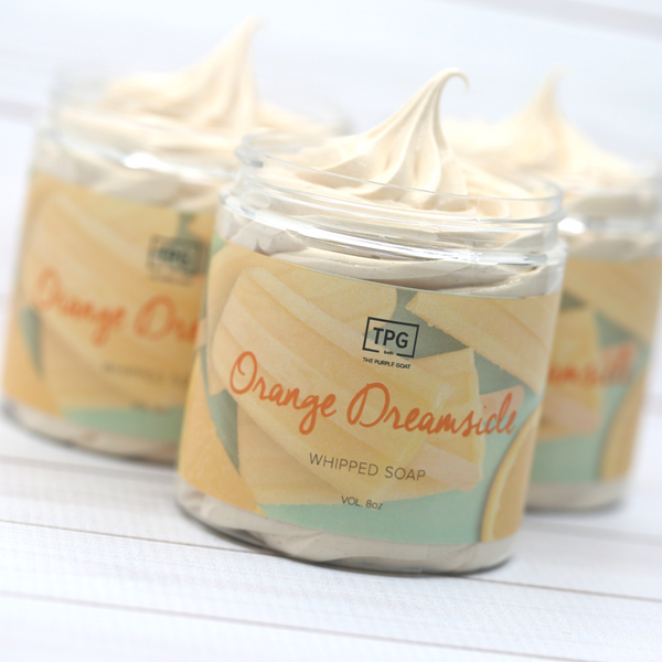 Whipped Soap - Orange Dreamsicle