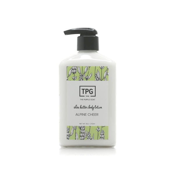 Shea Butter Body Lotion - Alpine Cheer