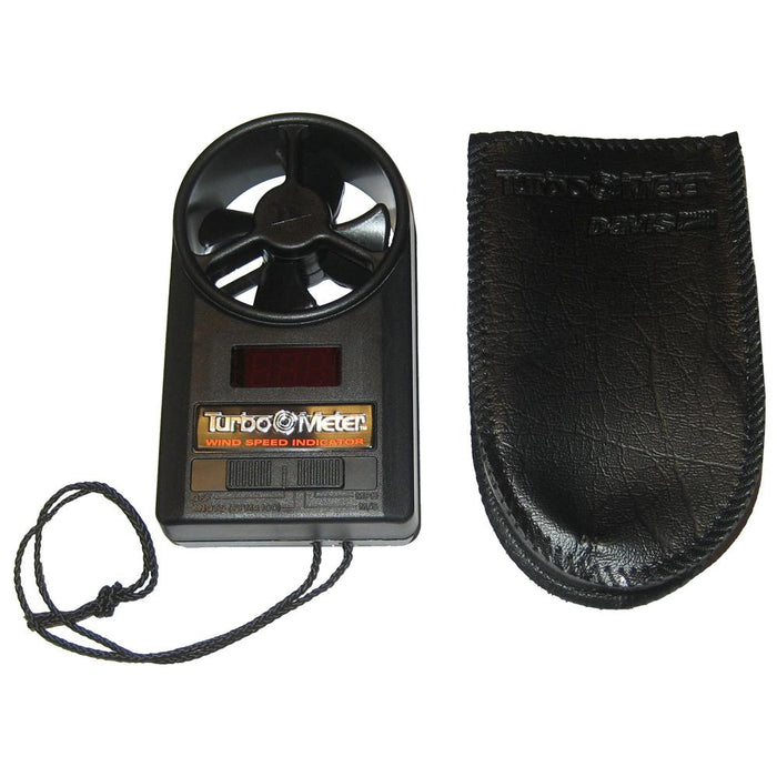 Davis Instruments Davis Turbo Meter Electronic Wind Speed Indicator [271] Weather Instruments Desert Wind Sailboats