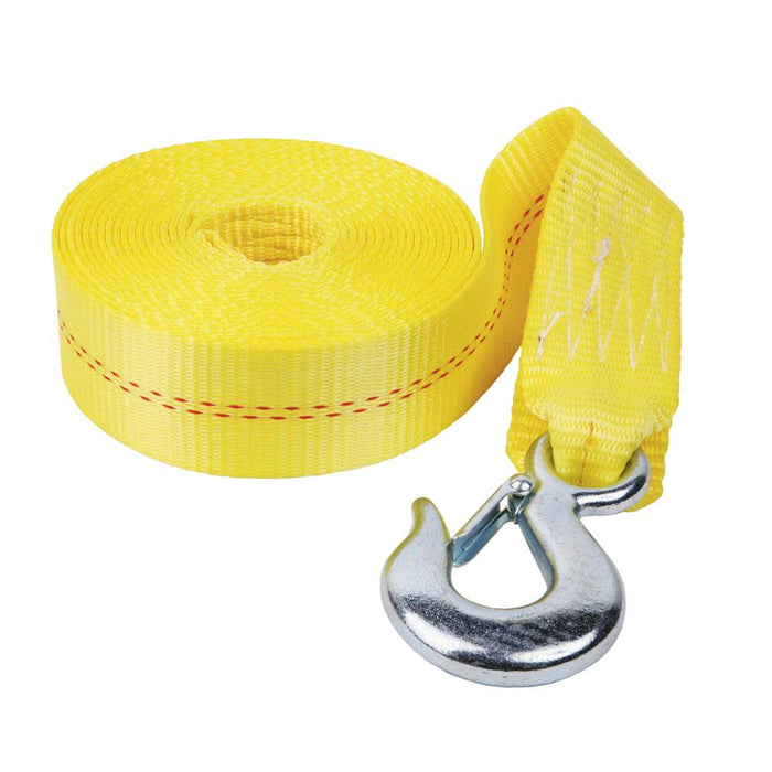 "Fulton Fulton 2"" x 20' Heavy Duty Winch Strap and Hook - 4,000 lbs. Max Load [WS20HD0600] Trailer Accessories Desert Wind Sailboats"
