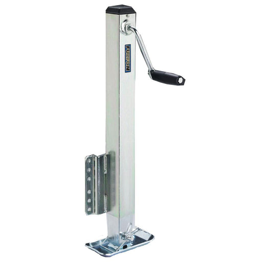 Fulton Fulton 2500 lbs. Square Tube Fixed Mount Jack No Wheel [HD25000101] Trailer Accessories Desert Wind Sailboats