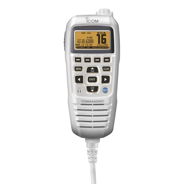 Icom Icom CommandMic IV White [HM195SW] Accessories Desert Wind Sailboats