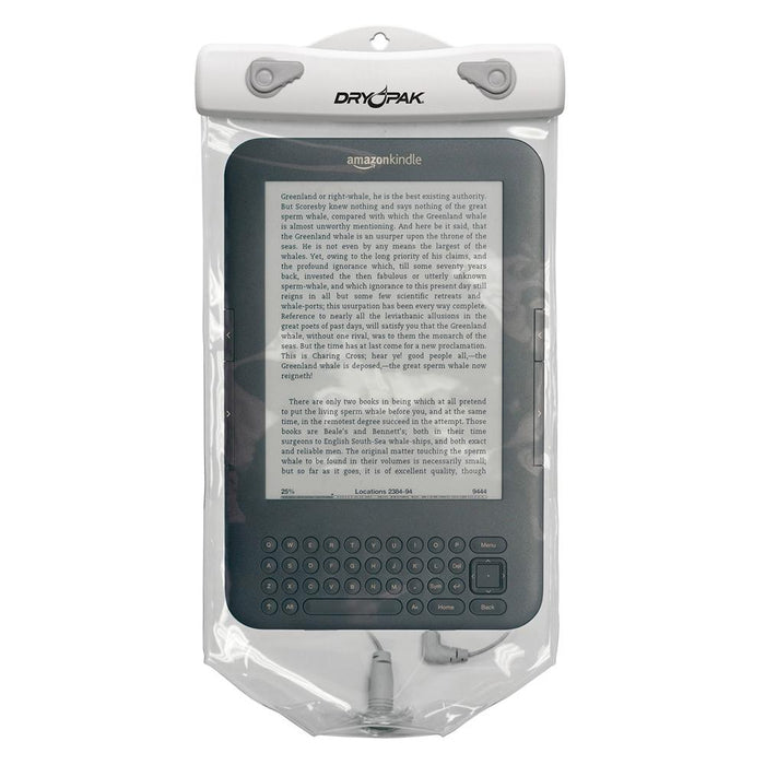 "Dry Pak Clear Tablet Case f-Kindle White-Grey - 6"" x 10"" [DPT-610W]"