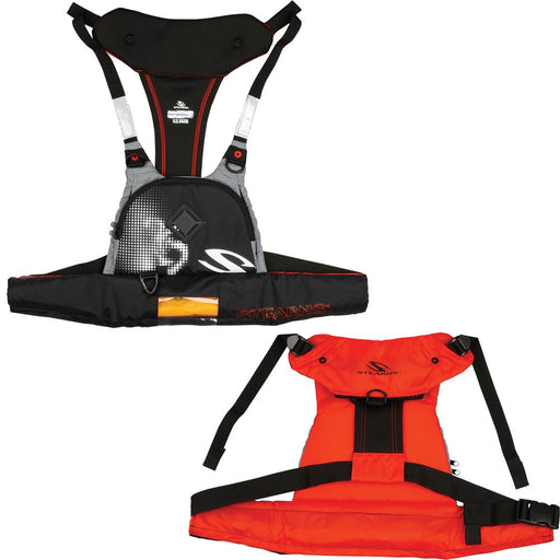 Stearns Stearns 4430 16g Manual Inflatable Paddlesport Harness-Vest - Red-Black [2000013815] Personal Flotation Devices Desert Wind Sailboats