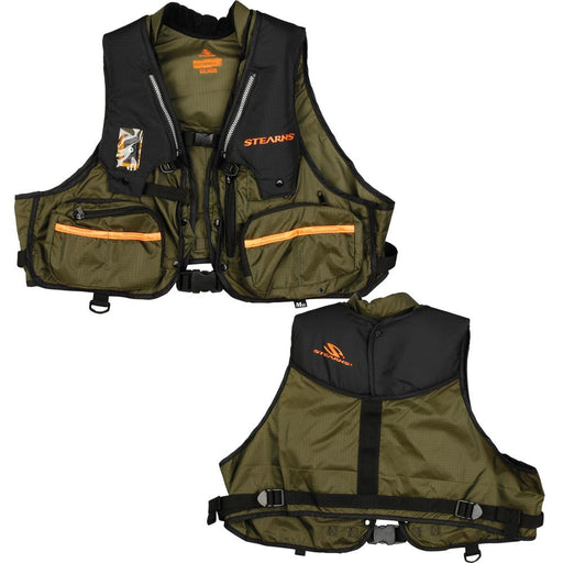 Stearns Stearns 1248 Adult Inflatable Vest - Hunt-Fish Spec. - L-XL [2000015789] Personal Flotation Devices Desert Wind Sailboats