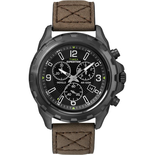 Timex Timex Expedition Rugged Chronograph Watch - Brown-Black [T49986] Fitness / Athletic Training Desert Wind Sailboats