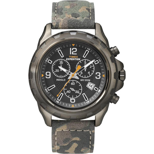 Timex Timex Expedition Rugged Chronograph Watch - Camo-Brown [T49987] Watches Desert Wind Sailboats