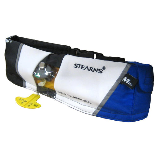Stearns Stearns 0340 Paddlesports Manual Inflatable Belt - Blue [2000007055] Personal Flotation Devices Desert Wind Sailboats