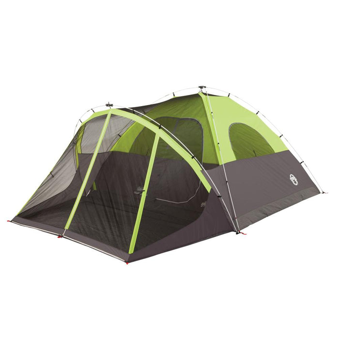 Coleman Coleman Steel Creek Fast Pitch Screened Dome Tent - 6 Person [2000018059] Tents Desert Wind Sailboats
