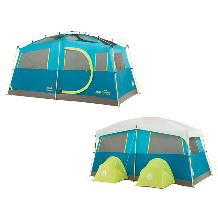 Coleman Coleman Tenaya Lake Fast Pitch Cabin w-Cabinets - 6 Person [2000018142] Tents Desert Wind Sailboats