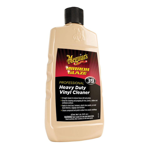 Meguiar's Meguiar's #39 Mirror Glaze Heavy Duty Vinyl Cleaner - 16oz [M3916] Cleaning Desert Wind Sailboats