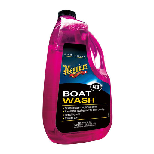 Meguiar's Meguiar's #43 Marine Boat Soap - 64oz [M4364] Cleaning Desert Wind Sailboats
