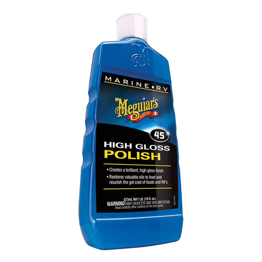 Meguiar's Meguiar's #45 Boat-RV Polish & Gloss Enhancer - 16oz [M4516] Cleaning Desert Wind Sailboats