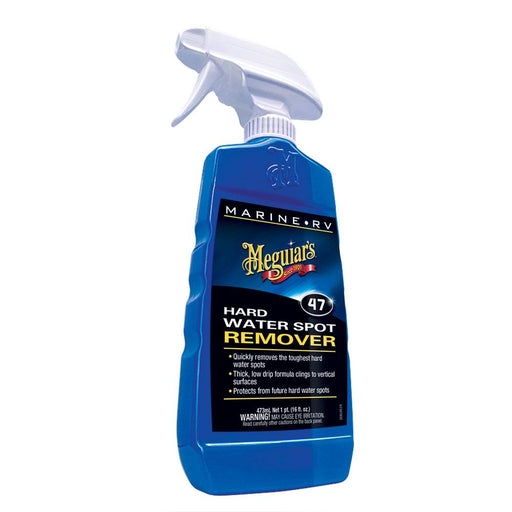 Meguiar's Meguiar's #47 Hard Water Spot Remover - 16oz [M4716] Cleaning Desert Wind Sailboats