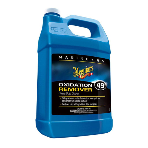 Meguiar's Meguiar's #49 Mirror Glaze HD Oxidation Remover - 1 Gallon [M4901] Cleaning Desert Wind Sailboats