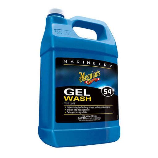 Meguiar's Meguiar's #54 Boat Wash Gel - 1 Gallon [M5401] Cleaning Desert Wind Sailboats