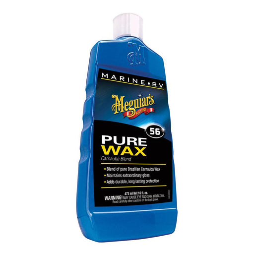 Meguiar's Meguiar's #56 Boat-RV Pure Wax - 16oz [M5616] Cleaning Desert Wind Sailboats