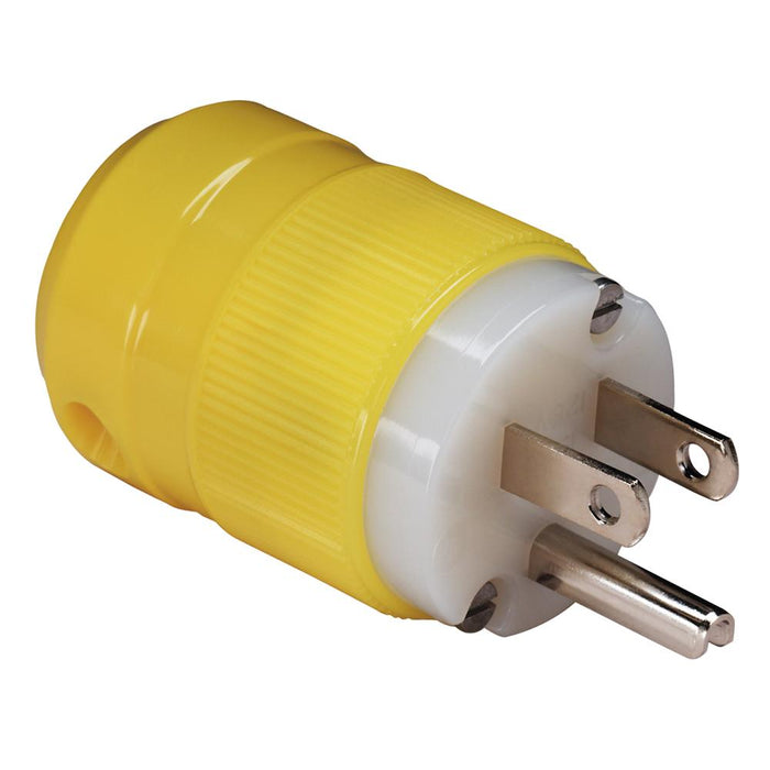 Marinco Marinco 15A Straight Blade Male Plug - 125V [5266CR] Shore Power Desert Wind Sailboats