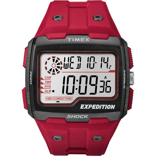 Timex Timex Expedition Grid Shock Watch - Red [TW4B039009J] Watches Desert Wind Sailboats