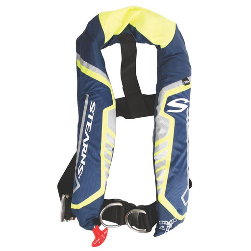 Stearns Stearns C-Tek 38G A-M Inflatable Life Vest - Blue-Yellow [3000004369] Personal Flotation Devices Desert Wind Sailboats