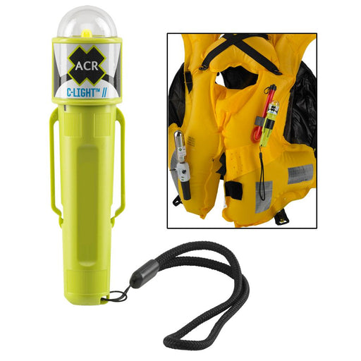 ACR Electronics ACR C-Light - Manual Activated LED PFD Vest Light w-Clip [3963.1] Safety Lights Desert Wind Sailboats