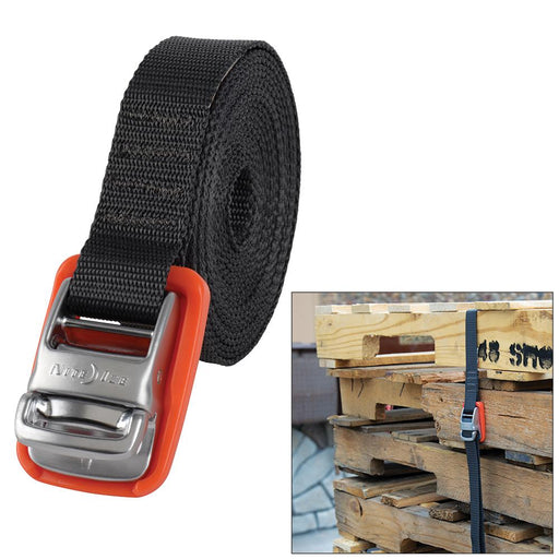 Nite Ize Nite Ize CamJam Tie Down Strap - Ultimate Strength - 12' [CJWR12-09-R6] Accessories Desert Wind Sailboats