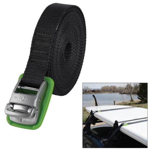 Nite Ize Nite Ize CamJam Tie Down Strap - Ultimate Strength - 18' [CJWR18-09-R6] Accessories Desert Wind Sailboats