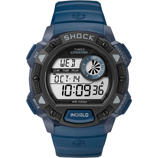 Timex Timex Expedition Base Shock Full-Size Watch - Blue [TW4B07400JV] Watches Desert Wind Sailboats