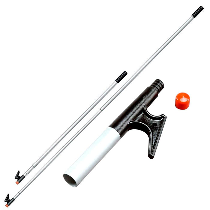 "Davis Instruments Davis 3-Section Adjustable Boat Hook - Adjusts 38"" to 8' [4132] Docking Accessories Desert Wind Sailboats"