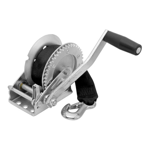 Fulton Fulton 1,100 lbs. Single Speed Winch w-20' Strap Included [142102] Trailer Winches Desert Wind Sailboats