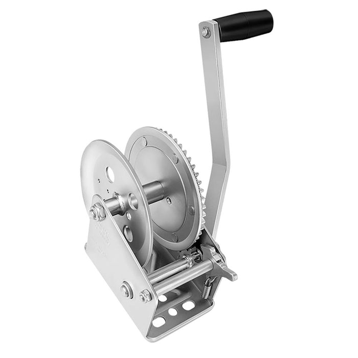 Fulton Fulton 1800 lbs. Single Speed Winch - Strap Not Included [142300] Trailer Winches Desert Wind Sailboats