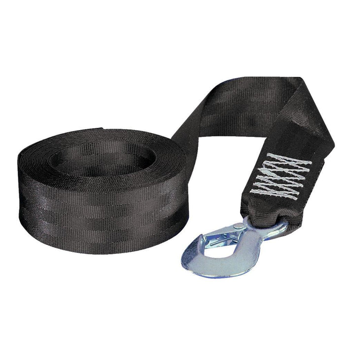 "Fulton Fulton 2"" x 12' Winch Strap w-Hook - 1,800lbs Max Load [501208] Trailer Winches Desert Wind Sailboats"