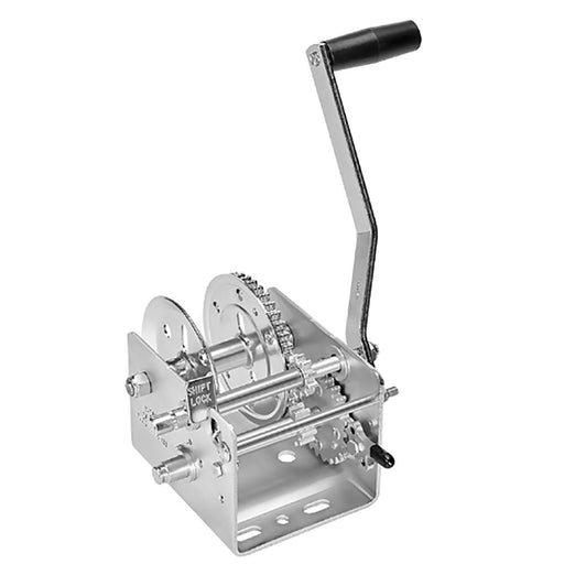 Fulton Fulton 2600lb 2-Speed Winch - Strap Not Included [142410] Trailer Winches Desert Wind Sailboats