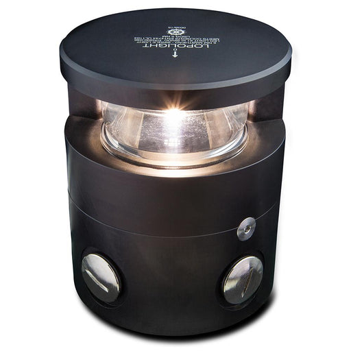 Lopolight Lopolight Masthead Light - 5nm f-Vessels 65-164' - Black [300-036-B] Navigation Lights Desert Wind Sailboats
