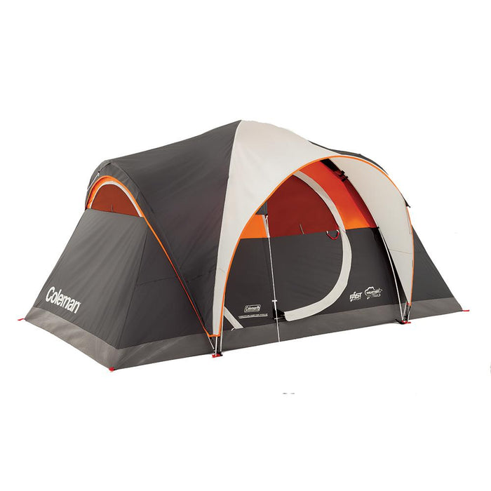 Coleman Coleman Yarborough Pass Fast Pitch 6-Person Tent [2000018247] Tents Desert Wind Sailboats