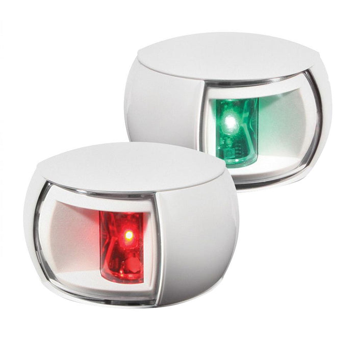 Hella Marine Hella Marine NaviLED Port & Starboard Pair - 2nm - Clear Lens-White Housing [980520911] Navigation Lights Desert Wind Sailboats