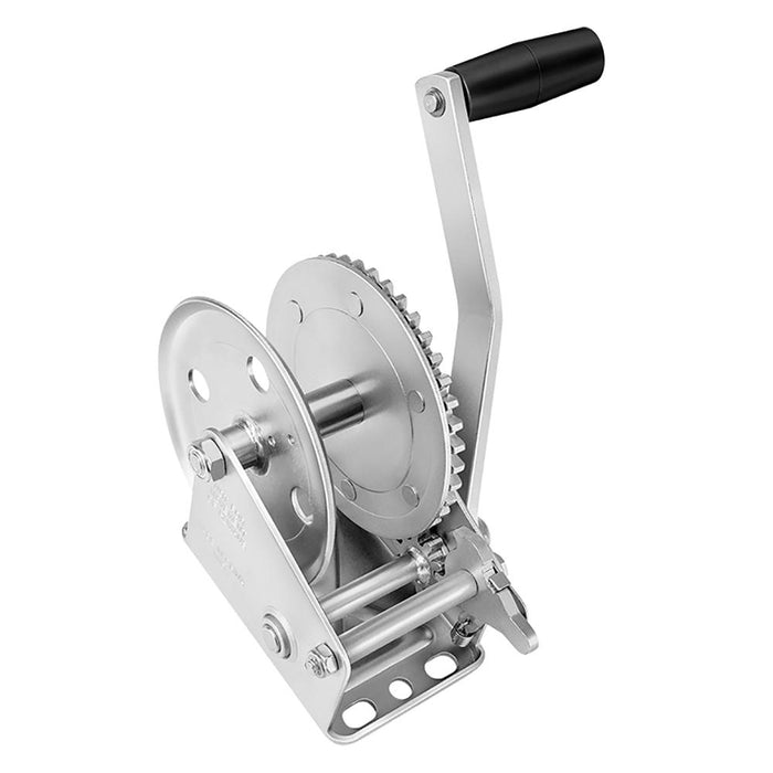 Fulton Fulton 1100lb Single Speed Winch - Strap Not Included [142100] Trailer Winches Desert Wind Sailboats