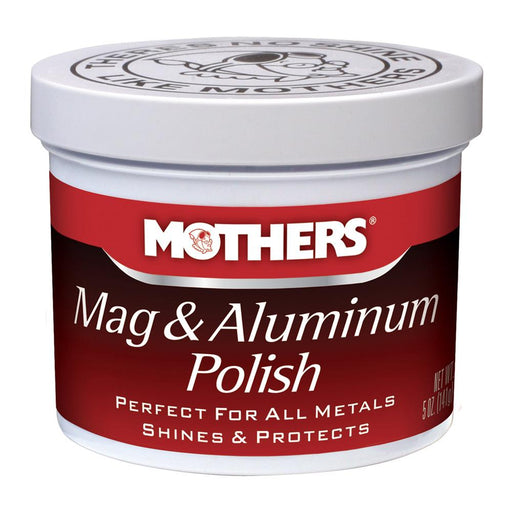 Mothers Polish Mothers Mag  Aluminum Polish - *Case of 12* [05100CASE] Cleaning Desert Wind Sailboats
