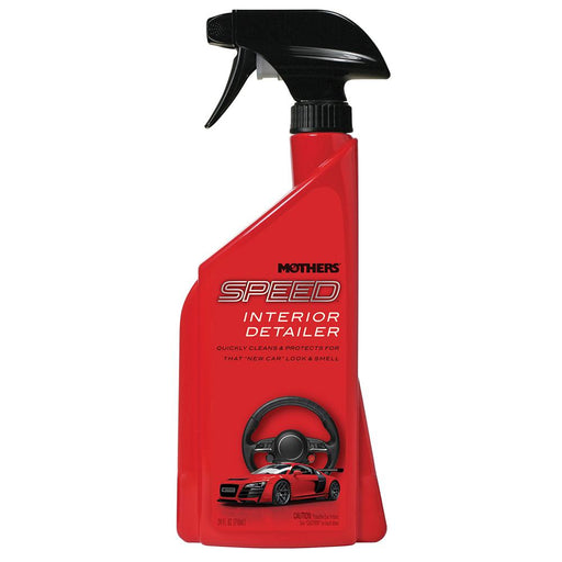 Mothers Polish Mothers Speed Interior Detailer - 24oz - *Case of 6* [18324CASE] Cleaning Desert Wind Sailboats