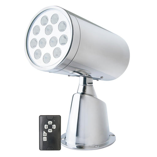 Marinco Wireless LED Stainless Steel Spotlight w-Remote [23050A]